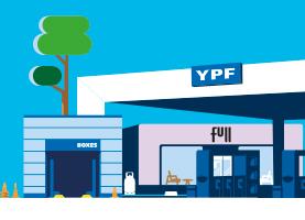 YPF #EstacionAlServicio